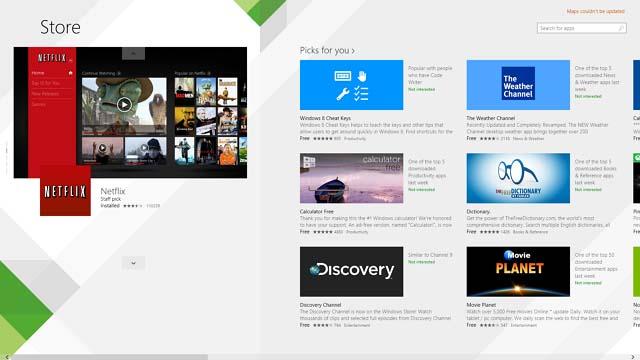 New Windows Store