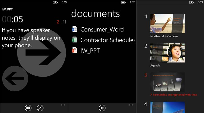 Office Remote lets you control PowerPoint, Word, and Excel using a