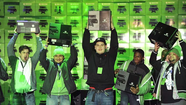 Xbox One launch event first consoles