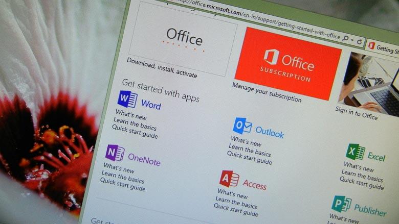 Microsoft Office applications