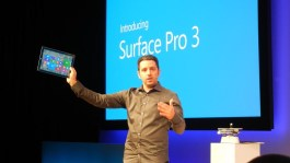 Surface Pro 3 unveiling event in New York City