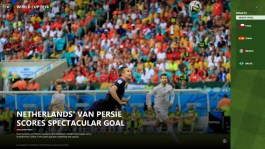 World Cup 2014 Bing Sport app for Windows 8.1