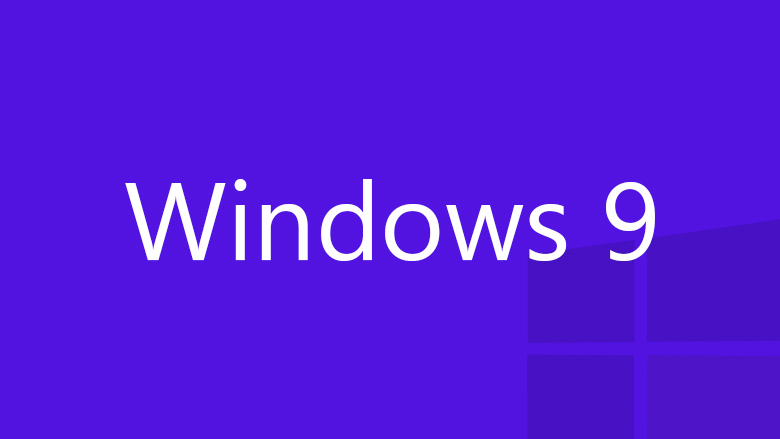 Windows 9 logo purple