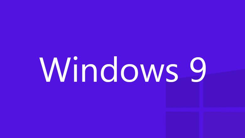 Windows 9 logo purple