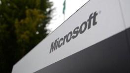Microsoft - name logo