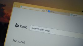 Bing Search Box on New Tab
