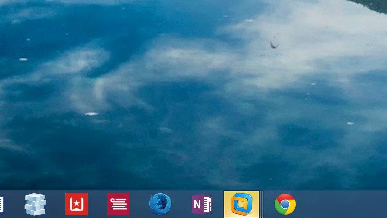 Taskbar flashing icon on Windows 8.1