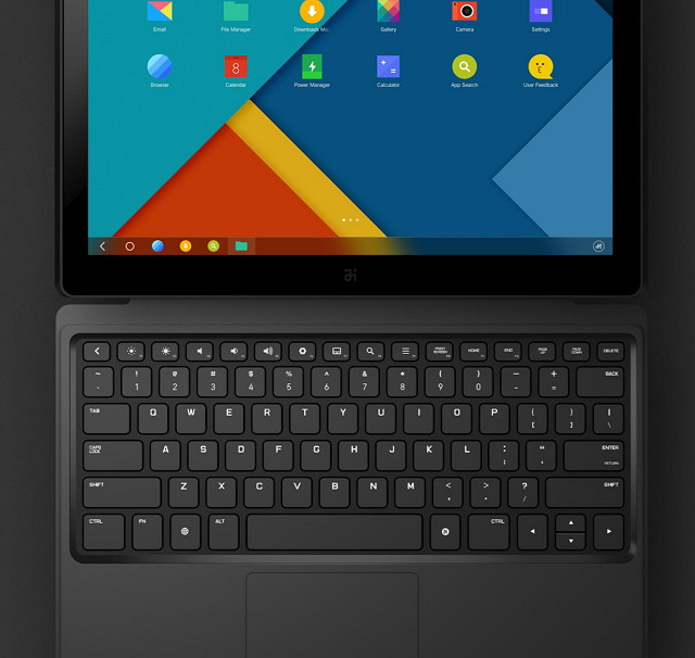 Remix tablet with keyboard