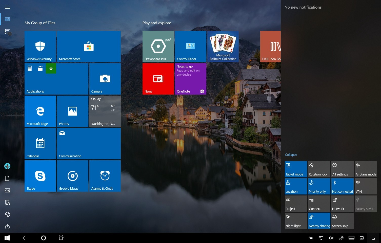 How to enable tablet mode on Windows 10 \u2022 Pureinfotech