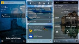 Picturesque Lock Screen app for Android