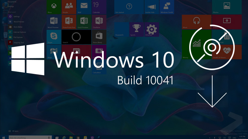 Windows 10 build 10041 download the official iso files pureinfotech windows 10 10041 download ccuart Gallery