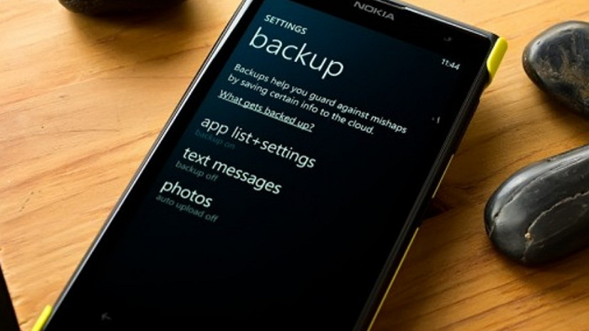 backing up windows phone 81