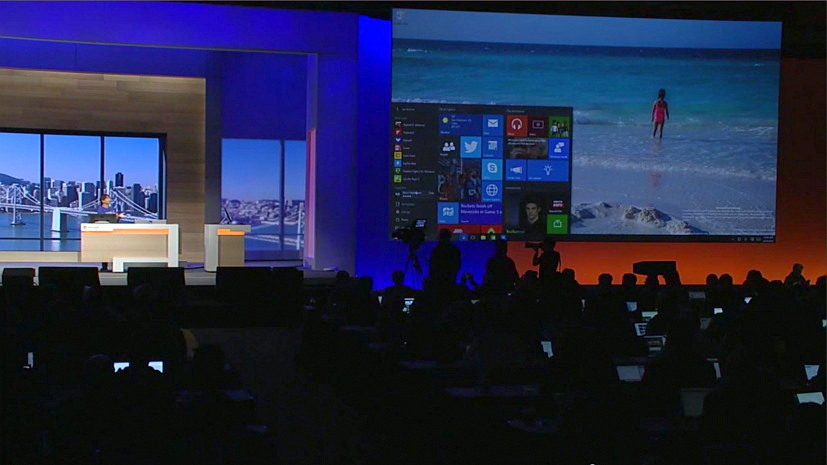 Windows 10 at Microsoft BUILD 2015