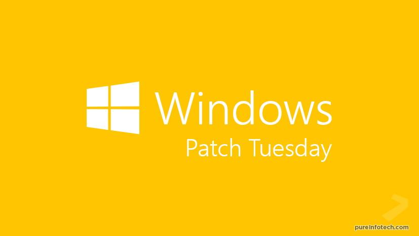 Microsoft Patch Tuesday (orange)