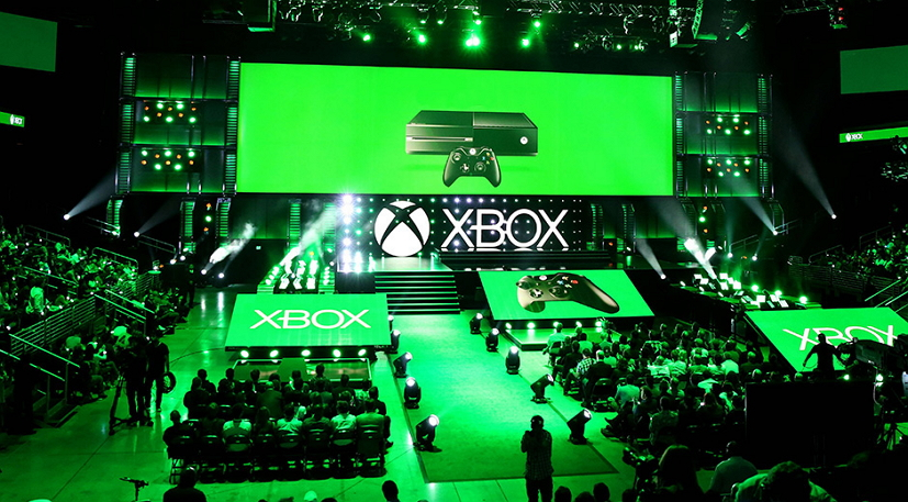 Xbox E3 2015 briefing stage