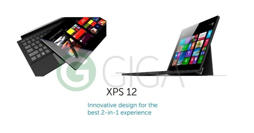 Dell XPS 12 Surface like tablet