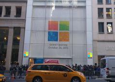 Microsoft Store grand opening New York, October 26th
