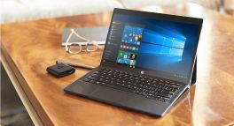 Dell XPS 12 running Windows 10