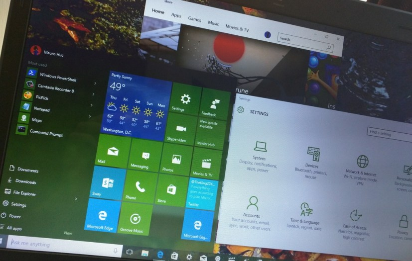Windows 10 version 1511