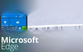 Microsoft Edge tile for Windows 10