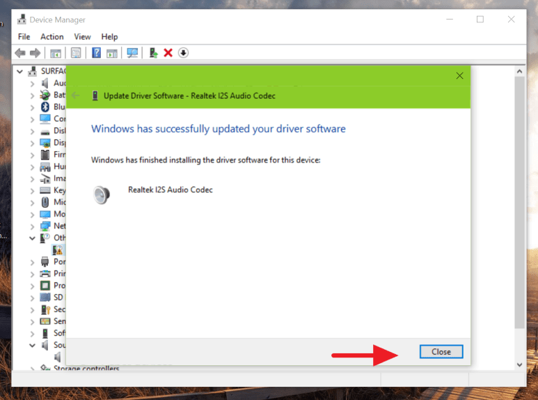How to fix Surface 3 sound not working issue on Windows 10