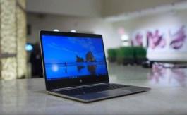 HP EliteBook Folio running Windows 10