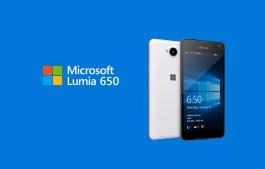 Lumia 650 Windows 10 Mobile phone