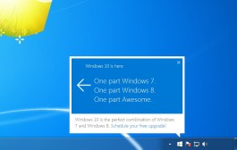 Windows 10 upgrade notification on Windows 7 and Windows 8.1