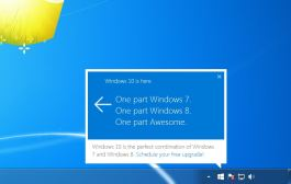 Windows 10 upgrade notification on Windows 7 and Windows 8.1