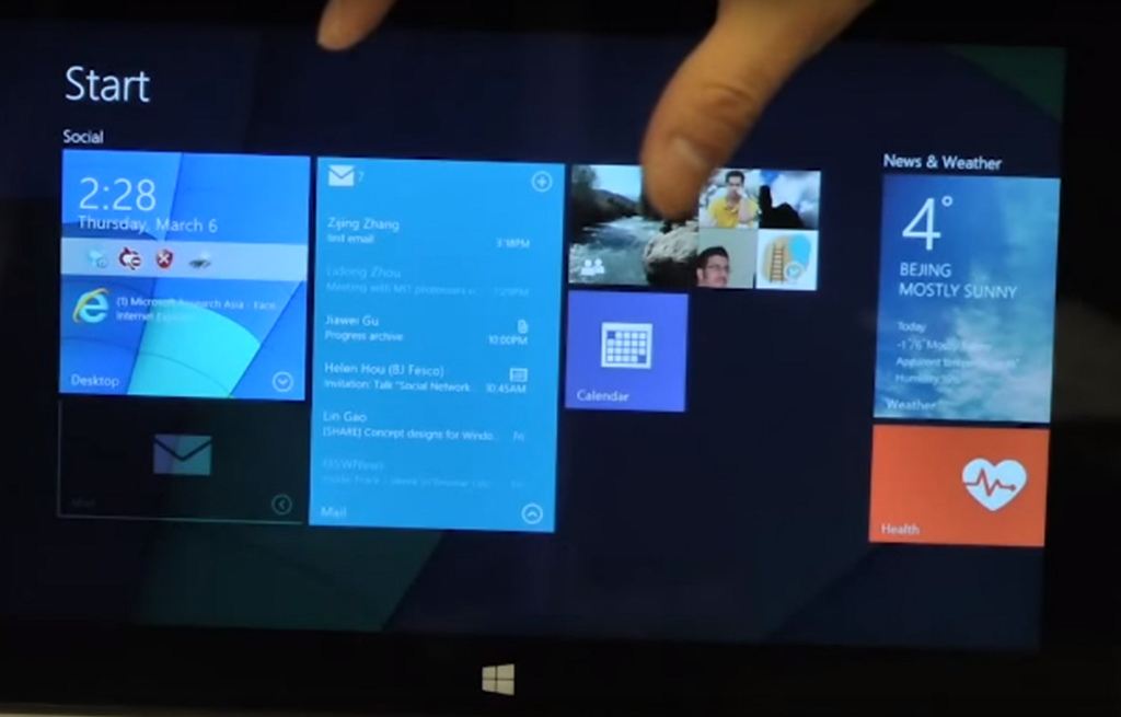 Interactive Live Tiles on Windows 10