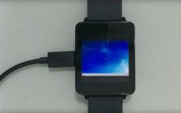 Windows 7 running on a smartwatch video