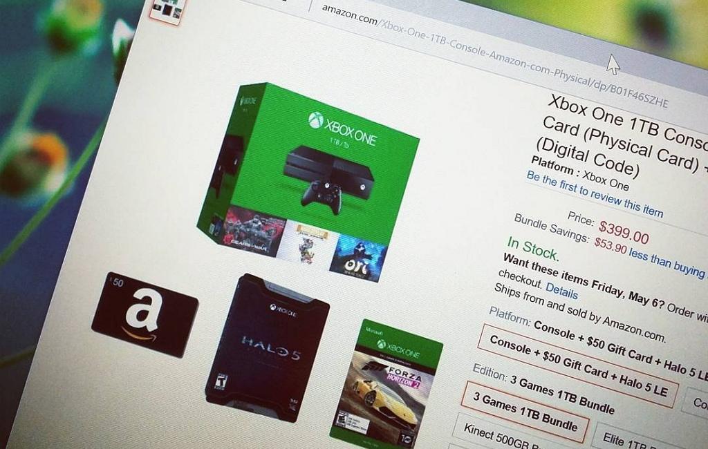 Get an Xbox One 3 Games 1TB bundle, plus $50 Amazon Gift