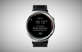 Microsoft Outlook watch face for Android Wear