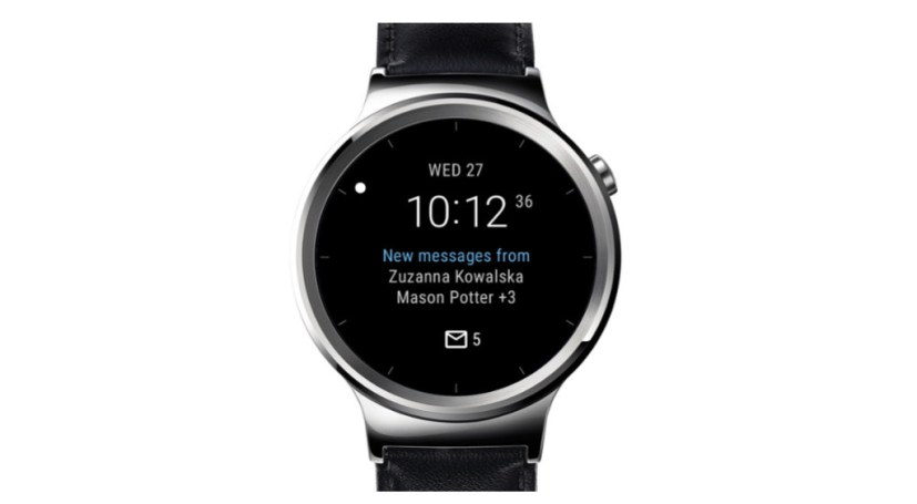 Outlook watch face emails