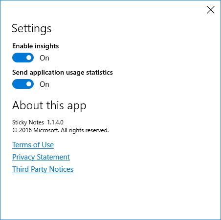 Sticky Notes Cortana integration