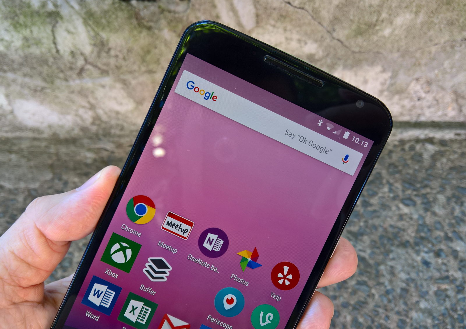 Android 7.0 Nougat running on an Nexus phone