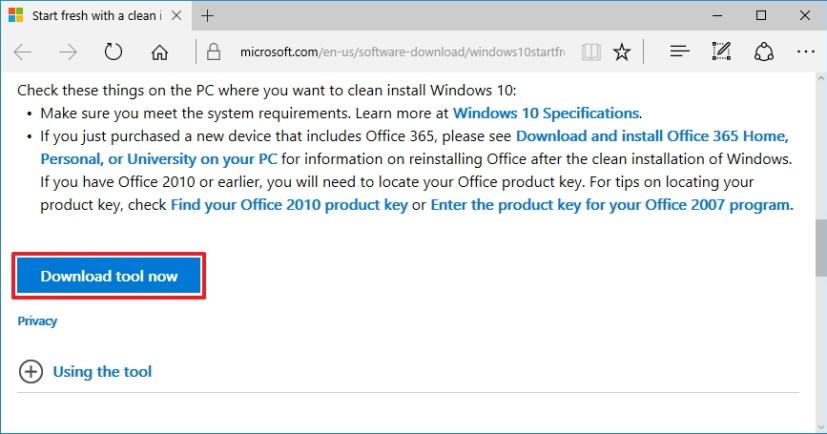 Download RefreshWindowsTool.exe tool