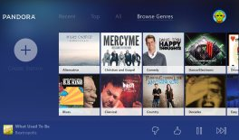 Pandora for Xbox One with Background Music support update