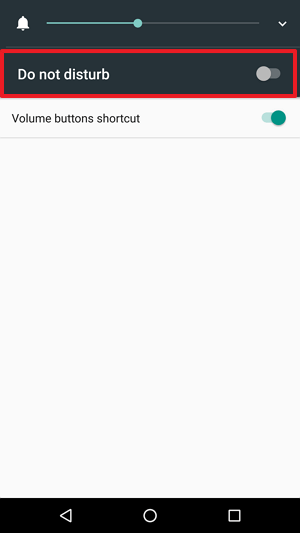 System UI Tuner Do not disturb
