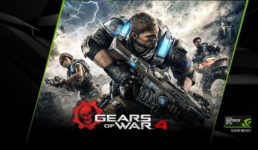 Gears of War 4 Microsoft and Nvidia GTX offer