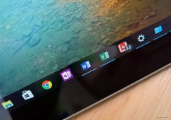 Microsoft Office apps pinned on the taskbar
