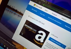 Microsoft Rewards Amazon gift card redeem points