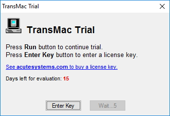 Run TransMac on Windows