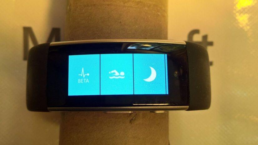 Microsoft Band 3 prototype