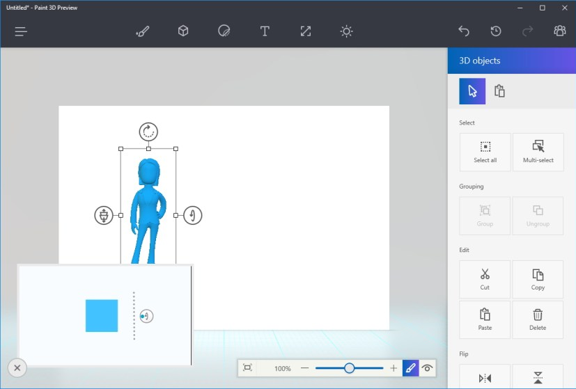 Paint 3D assistant