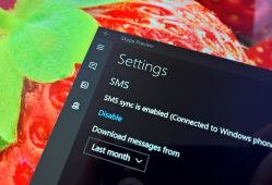 Sending SMS from a PC using Skype on Windows 10