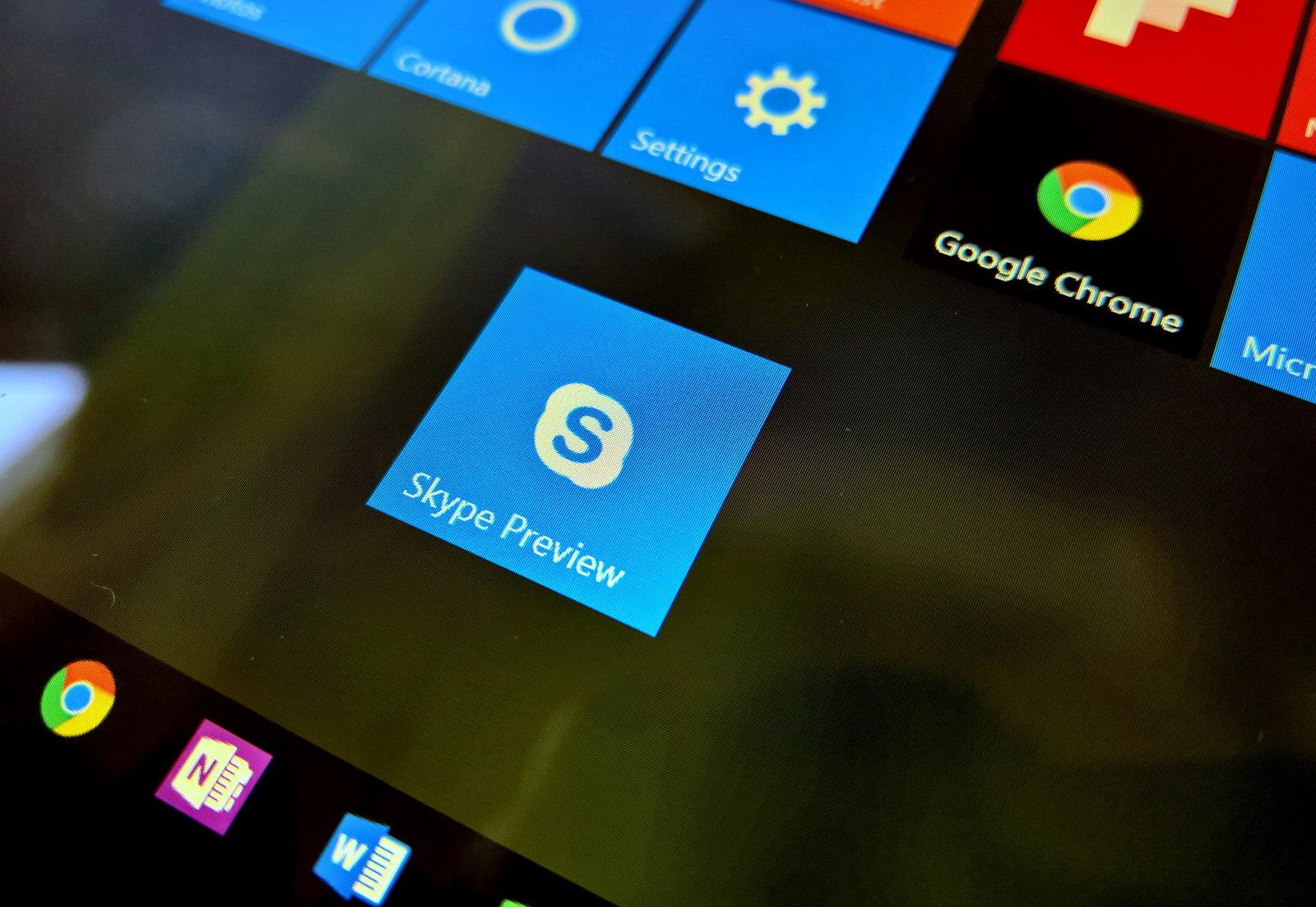 Skype and Microsoft account