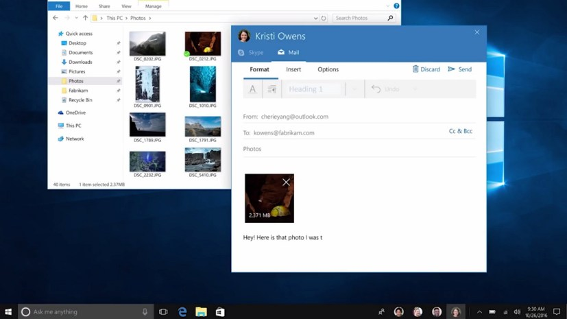 Windows 10 Creators Update new features