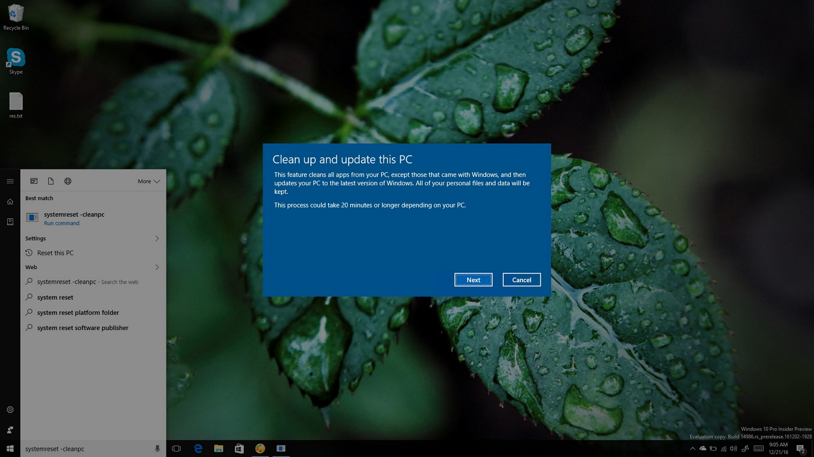 Windows 10 Creators Update: Clean up and update this PC