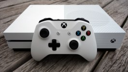 Xbox One S with controller